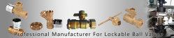 professional manufacturer for brass lockable ball valve