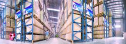 company shipping area