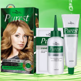 no ammonia Hair Color Cream dye with Developer and Conditioner