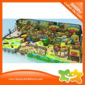 Children indoor rainbow net playground equipment for sale