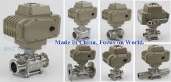 Ball Valves with Electric Actuator