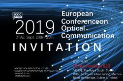 ECOC 2019 Invitation