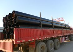 delivery pipes to seaport