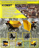 Mini Dumper for Palm Use