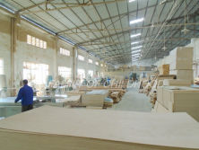 Carpentry department in workshop
