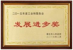Development and Progress Award