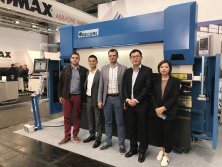 Accurl participated in German Exhibition in 2017