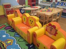 kid PVC cartoon sofa set