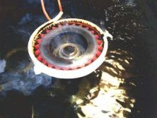 high-frequency quenching heat treatment of hardened teeth for sprocket gear