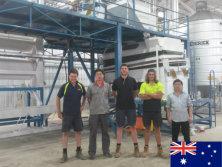 Engineer installed quinoa processing plant in Australia