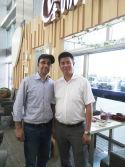 United State Friend-Shawn & Mr. Wang