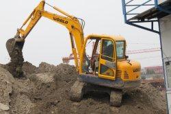 excavator is working