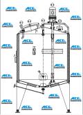 Steam Heating Mixing Tank