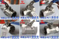 1PC stainless steel thread floating ball valve