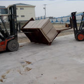 4x8′Plywood Pick Up Container.a