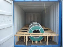 Loading Galvanized Steel Coil