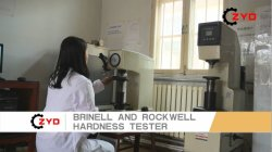 Brinell And Rockwell Hardness Tester