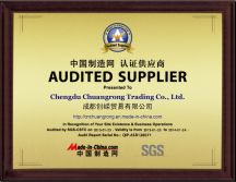 Audited Supplier of Made-in-China by SGS