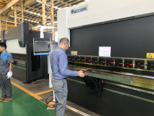 Iran Client Testing Machine in Our Factory