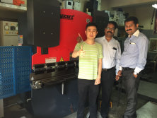 India Customers Visit Factories and Buy Machines