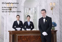 Service after sales