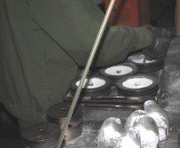 Power Pull Into Mold