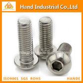 Stainless Steel screw Allen Button Head Fasteners Screws