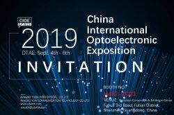 CIOE 2019 Invitation
