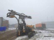 HG550-13 Diesel Screw Air Compressor work with HC726A Wagon Drilling Rig