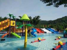 water slide playground