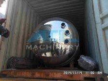 40HQ for 2X6000L Sanitary Juice Storage Tank