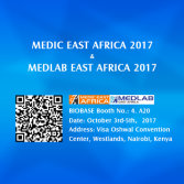 Welcome to visit BIOBASE at MEDIC EAST AFRICA 2017 & MEDLAB EAST AFRICA 2017