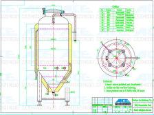 300L Beer Fermentation Tank