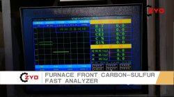 Furnace Front Carbon-Sulfur Fast Analyzer