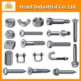 different kinds of stainless steel fasteners