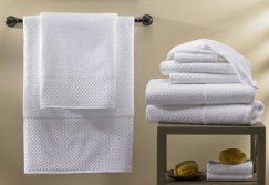 White Hotel Towel Set