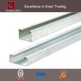 Galvanized U Channel Steel