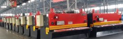 hydraulic shearing machine production line