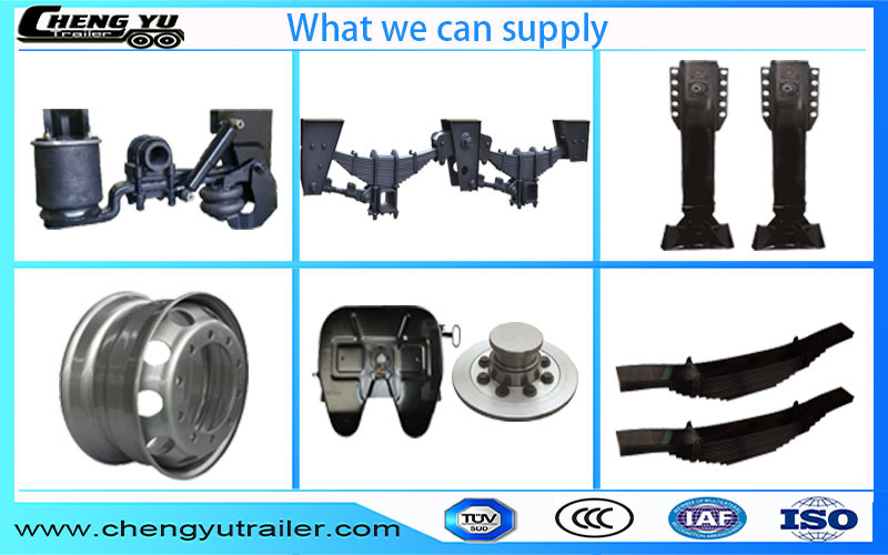 16t Tandem Mechanical Spring Suspension for Truck Trailer