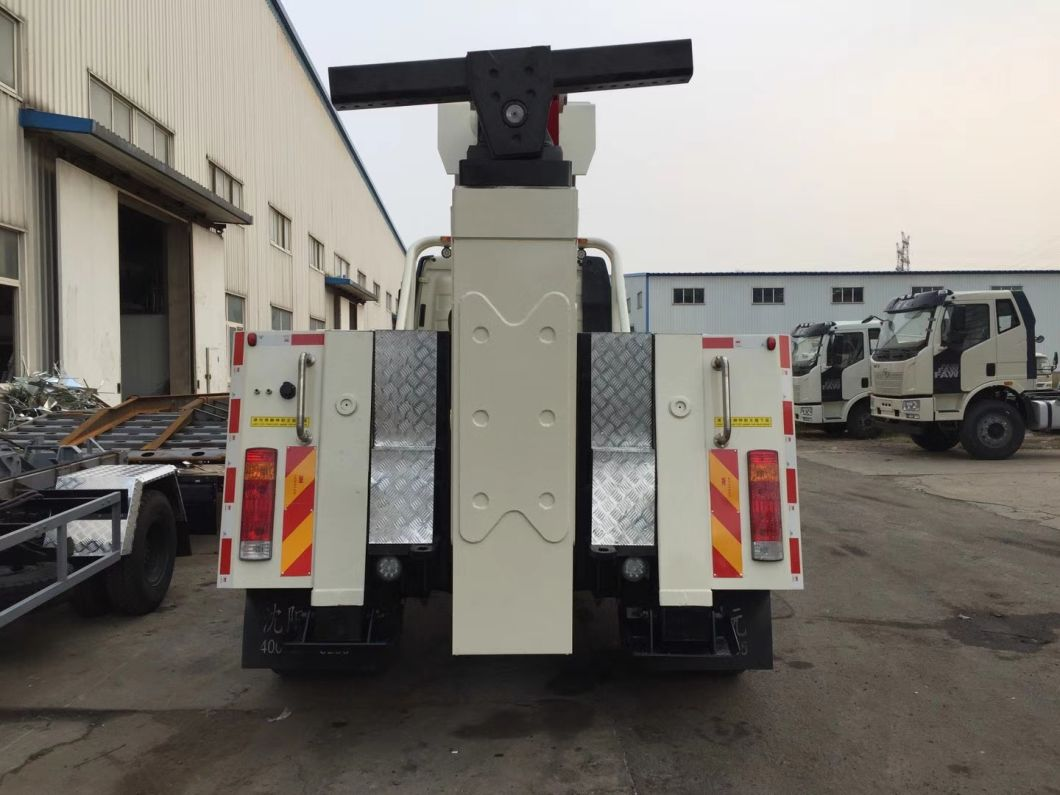 8 Ton FAW 4*2 220HP Road Rescue Recovery Truck