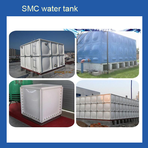 FRP Fiberglass SMC Storage 500 Liter Square Water Tank for