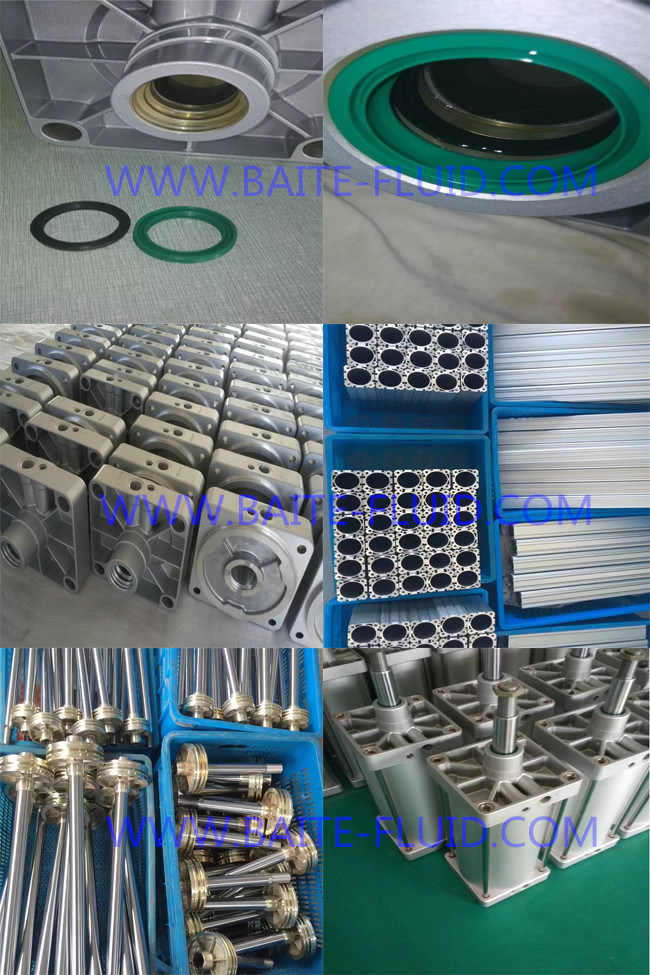 Heavy Duty Customized Stainless Steel Pneumatic Air Cylinder