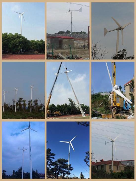 5kw Wind Turbine/Permanent Magnet Generator/Wind Power Energy