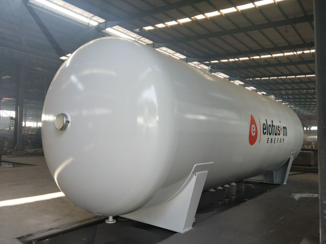 Manufacturer Direct 5cbm-120cbm 5000 Liter to 120000L Pressure Vessel LPG Propane Cooking Gas LPG Storage Tank
