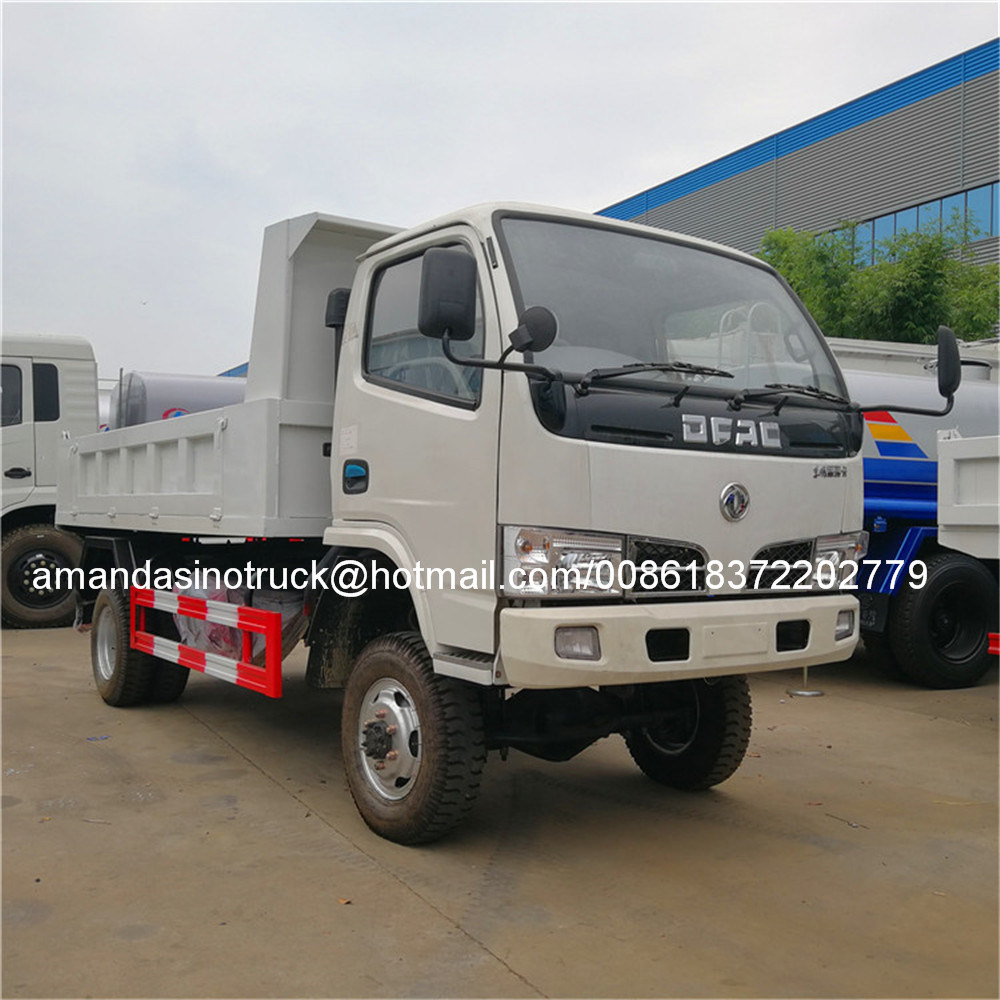 Hot Sale Strong Quality 3t - 5t Mini Tipper Truck 4X4 Dump Truck