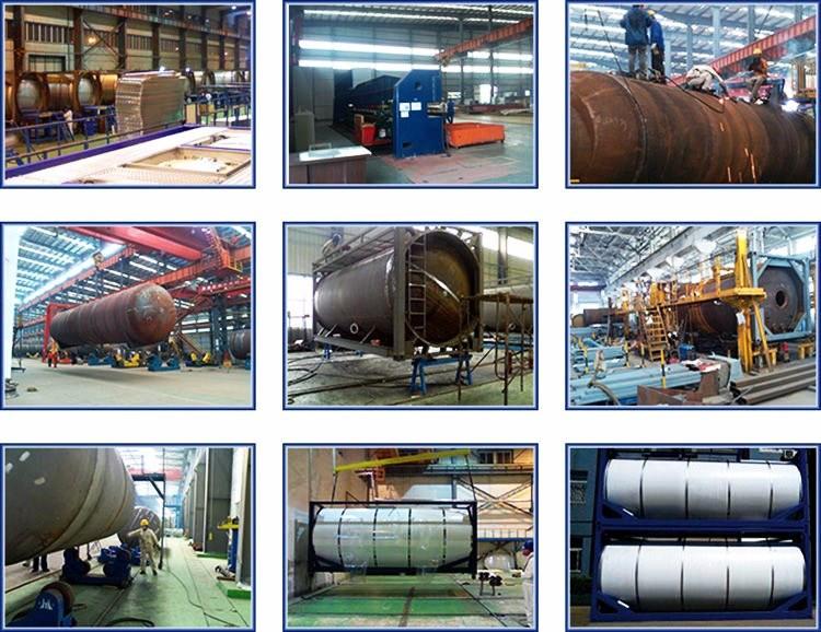 Sulfuric Acid 20FT Tank Co<em></em>ntainer for Un1830 (Sulphuric acid 98.0% H2SO4 Isotank)