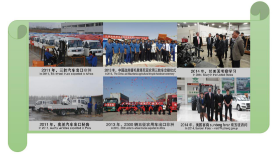 Chinese Waw Open Cargo Diesel Motorized3-Wheel Tricyclefrom China