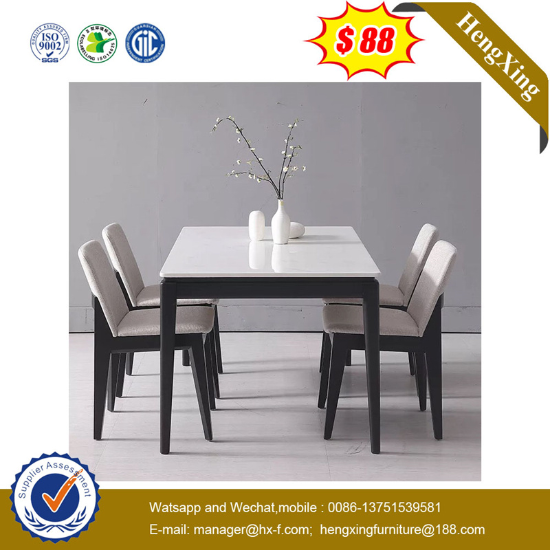 Modern Simple Wooden Home Furniture Table Set Dining Table with Chair