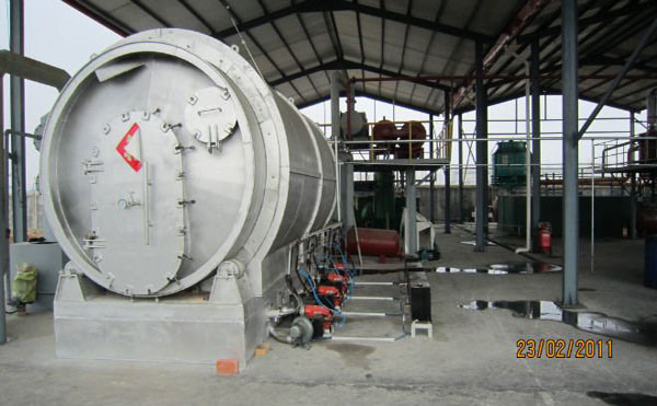 Pyrolysis Plant for Plastic Waste Refining Without Bad Smell