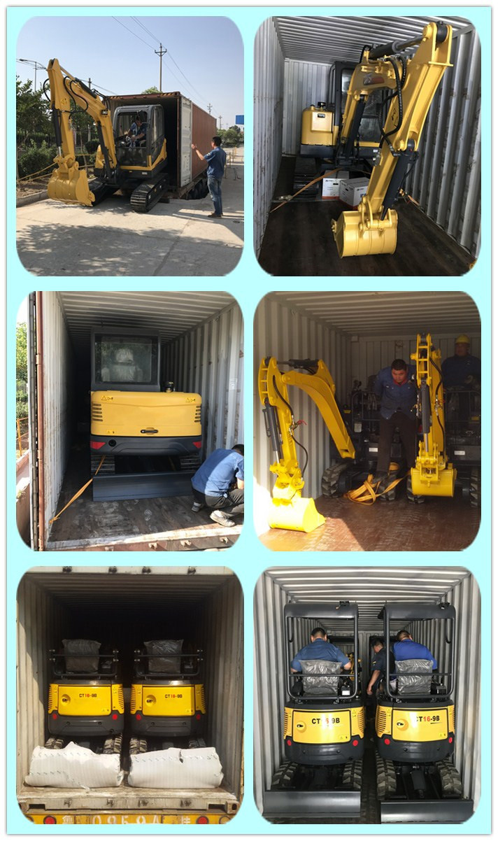 ACTIVE 4.5ton High Quality Excavator for Sale with Competetive Price